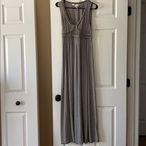 Max Studio Striped Sleeveless Maxi Dress Size S